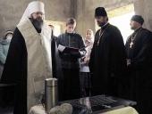 Заложен камень в основание храма в честь святителя Луки Крымского на территории Клинической больницы №1 города Смоленска