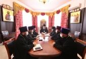 В Архангельске состоялось совещание, на котором обсудили будущее монастырского комплекса на «Севмаше»