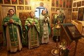 В Издательском Совете отметили 40-летие освящения домового храма в честь прп. Иосифа Волоцкого
