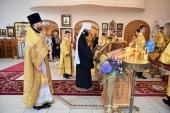 Патриарший экзарх Западной Европы возглавил торжества по случаю 85-летия прихода в честь Воскресения Христова в Цюрихе