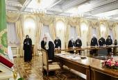 Начался второй день работы Священного Синода Русской Православной Церкви