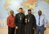 Секретарь ОВЦС по межхристианским отношениям встретился с представителем Эфиопской Церкви