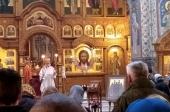 В день памяти мученицы Татианы Гримблит председатель Синодального отдела по благотворительности совершил Литургию в храме на Бутовском полигоне
