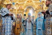 Блаженнейший митрополит Киевский Онуфрий возглавил юбилейные торжества в Зимненском монастыре на Волыни