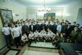 Председатель Синодального комитета по взаимодействию с казачеством принял участие в открытии XIV молодежного межконфессионального форума «Кавказ — наш общий дом»