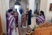 Праздник Воздвижения Креста Господня молитвенно отметили в Русской духовной миссии в Иерусалиме