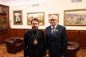 Патриаршая награда вручена начальнику Управления Президента Российской Федерации по внешней политике
