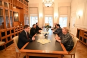 Председатель ОВЦС встретился с ректором Российской академии народного хозяйства и государственной службы и с президентом Российской академии образования
