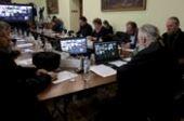 В Издательском Совете прошло заседание комиссии Межсоборного присутствия по вопросам общественной жизни, культуры, науки и информации