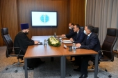 Секретарь ОВЦС по межрелигиозным отношениям встретился с председателем Сената Казахстана М.С. Ашимбаевым
