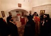 В праздник Зачатия Иоанна Предтечи начальник Русской духовной миссии возглавил торжества в Горненском монастыре в Иерусалиме