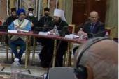 Выступление председателя ОВЦС на межрелигиозной встрече «Религия и образование»