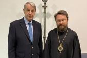 Председатель ОВЦС встретился с послом России при Святом Престоле