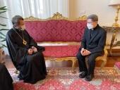 Состоялась встреча митрополита Волоколамского Илариона с кардиналом Луисом Антонио Тагле