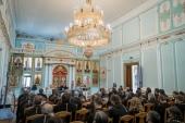 Для тверского духовенства была прочитана лекция о каноническом праве в современном мире