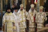 Настоятель подворья Русской Православной Церкви в Софии принял участие в торжествах в честь 20-летия возрождения Доростольской митрополии