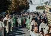 В Киево-Печерской лавре прошли торжества в честь Собора преподобных отцов, в Ближних пещерах почивающих
