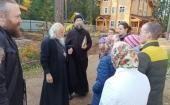 Председатель Синодального отдела по церковной благотворительности и социальному служению посетил социальные проекты Гатчинской епархии
