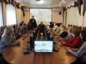 В рамках выставки-форума «Радость Слова» в Астрахани состоялись брейн-ринг на тему «Святой заступник Руси Александр Невский» и семинар для работников библиотек