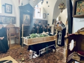 На Святой Земле простились с архиепископом Иорданским Феофилактом