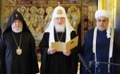 Заявление Святейшего Патриарха Кирилла по итогам трехсторонней встречи духовных лидеров Азербайджана, Армении и России