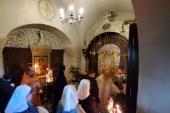 В день памяти преподобномученицы Елисаветы председатель Синодального отдела по социальному служению совершил Литургию в Марфо-Мариинской обители Москвы