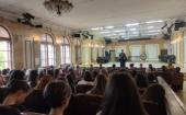 Председатель Синодального отдела по делам молодежи выступил с лекцией перед учащимися Московского государственного института музыки