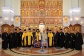 В Хабаровской епархии при участии Синодального отдела по взаимодействию с Вооруженными силами проходит учебно-методический сбор военного духовенства