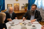 Синодальный отдел по благотворительности и Фонд продовольствия «Русь» заключили соглашение о сотрудничестве