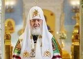 Слово Святейшего Патриарха Кирилла после освящения храма Казанской иконы Божией Матери в Орле