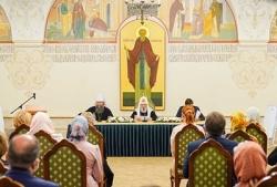 Святейший Патриарх Кирилл встретился с учителями «Основ религиозных культур и светской этики» и «Основ духовно-нравственной культуры народов России»