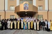 Блаженнейший митрополит Киевский Онуфрий освятил медицинский центр при Банченском монастыре