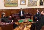 Председатель ОВЦС встретился с главой Культурного представительства при Посольстве Исламской Республики Иран