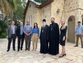 Министр внутренних дел Израиля и посол России в Израиле посетили подворье Русской духовной миссии в Магдале