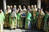 Настоятель Патриаршего подворья в Софии принял участие в престольном празднике Рыльской обители