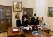 В Финансово-хозяйственном управлении обсудили вопросы открытия в Москве представительства Среднеазиатского митрополичьего округа