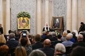 Приветствие Святейшего Патриарха Кирилла участникам церемонии вручения Макариевских премий