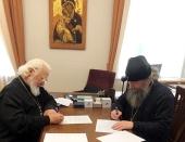 Подписано соглашение о сотрудничестве между Синодальным отделом религиозного образования и катехизации и Свято-Тихоновским университетом