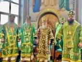 Архиепископ Пражский Михаил принял участие в празднике Хустской епархии Украинской Православной Церкви