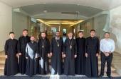 Началась образовательная поездка студентов духовных школ Украинской Православной Церкви в Антиохийский Патриархат