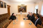 Заместитель председателя ОВЦС встретился с генеральным секретарем Межпарламентской ассамблеи Православия
