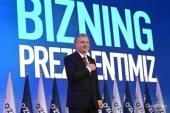 Вітання Святішого Патріарха Кирила Ш.М. Мірзійоєву з перемогою на виборах Президента Узбекистану