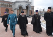 Сборы штатного военного духовенства Центрального военного округа проходят в Екатеринбурге