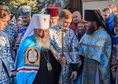 Митрополит Киевский Онуфрий совершил Литургию в Успенском Куливецком монастыре