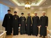 Патриарший наместник Московской митрополии встретился с представителями Духовного управления мусульман Подмосковья