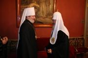 Святейший Патриарх Кирилл встретился с Блаженнейшим Митрополитом Чешских земель и Словакии Христофором