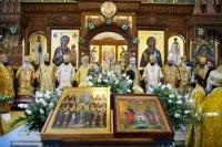 В Святогорской лавре состоялось прославление Собора преподобных отцов, во Святых горах на Донце просиявших