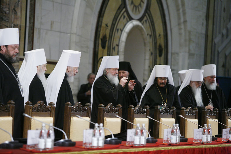 Открытие Архиерейского Собора Русской Православной Церкви