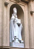 Папа Римский открыл во внутреннем дворике собора св. Петра мемориальную доску, посвященную св. Григорию, Просветителю армян