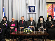 Президент Израиля поздравил глав христианских Церквей Святой Земли с Новым годом
